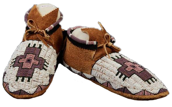 Harrison Red Crow 1992 Moccasins